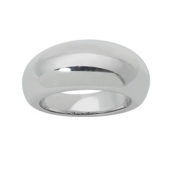 High Dome Ladies Dress Ring